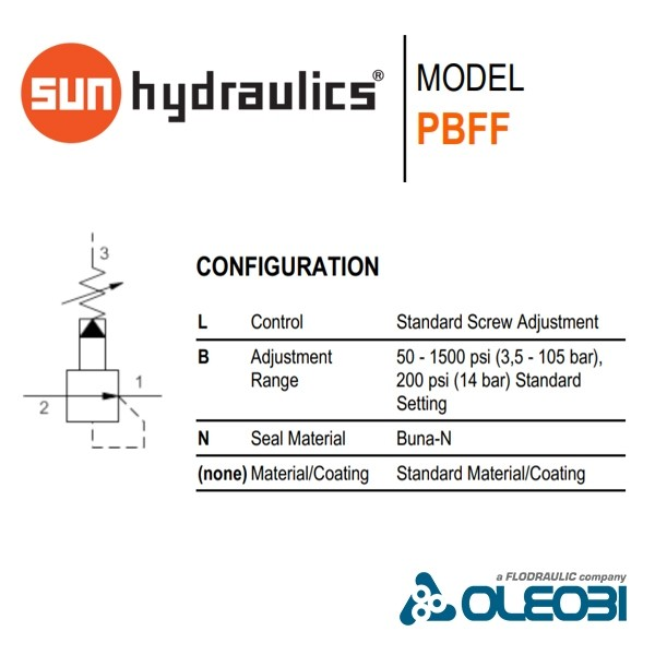 PBFFLBN_sunhydraulics_oleobi